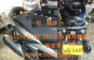 黑鐵支架 一般靠背  Aeon Elite 250  300e 300i 300 R 後靠背 宏佳騰