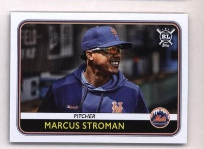 2020 Topps Big League #53 Marcus Stroman - New York Mets