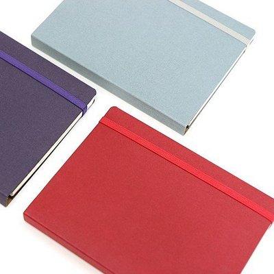 ♀高麗妹♀韓國 7321 THE PLANNER 品味原始 萬年月記事行事曆/硬書封線圈萬用筆記本(紫紅色)預購