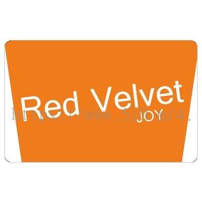〈可來圖訂做-卡貼 應援貼紙〉Red Velvet JOY 應援貼紙 悠遊卡貼紙
