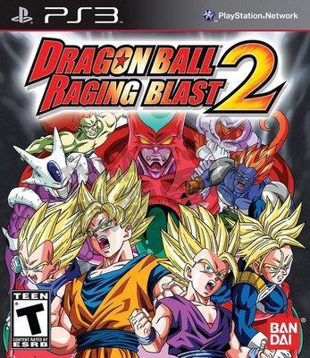 【二手遊戲】PS3 七龍珠 迅猛炸裂2 Dragon Ball: Raging Blast 2 英文版 【台中恐龍電玩】