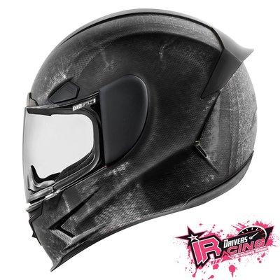 ♚賽車手的試衣間♚ Icon® Airframe Pro Construct Black 美國 街頭 重機 全罩 安全帽