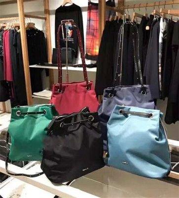 ☆╮PRiNcEsS-Mine╭☆日本Agnès b基本款logo尼龍側背包 斜背包 肩背包 水桶包 Sports b Prada  2% 台北市
