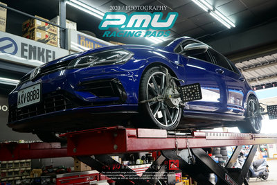 VW GOLF-R 專用 PMU project-mu HC+ 日製競技版來令片 提升制動力 各車款詢問 / 制動改