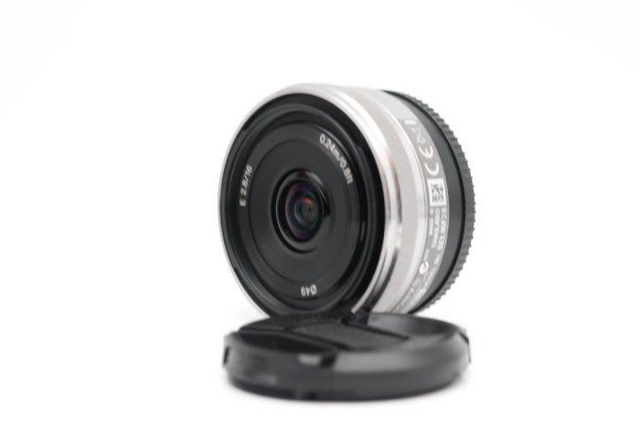 【高雄青蘋果3C】Sony E 16mm f2.8 OSS 二手 定焦鏡 鏡頭 E-Mount #36430