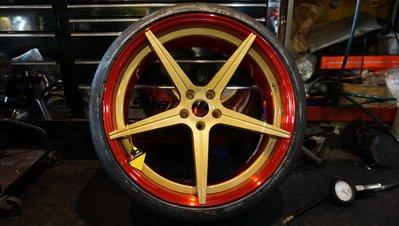 D2 鍛造鋁圈~訂製規格~19~22吋 AUDI A5 A6 A7 A8 R8 TT S6 S7 S8 Q3 Q5 Q7