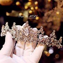 「免運」新娘頭飾  新娘皇冠頭飾新款大氣仙美超仙公主網紅結婚成人生日婚紗飾品 『菲菲時尚館』