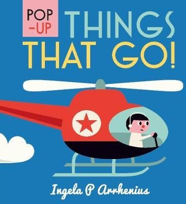 全新現貨 Pop-up Things That Go!  (立體書硬頁書)