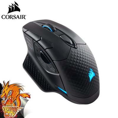 【桃園-虛擬城市】海盜船 DARK CORE RGB SE 無線電競滑鼠 無線充電