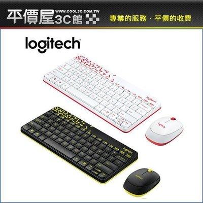 《平價屋3C 》全新 Logitech 羅技 無線滑鼠鍵盤組 MK240 Nano 無線鍵鼠組