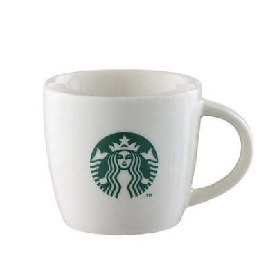 STARBUCKS 星巴克- 大 Logo馬克杯典藏3oz 創意星巴克杯子咖啡杯~膠囊咖啡機適用~