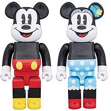 Bearbrick 1000%  Mickey Minnie