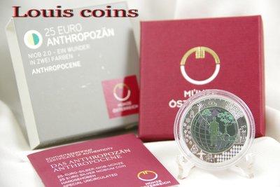 【Louis Coins】F055‧Austrian‧2018奧地利‧銀鈮雙金屬紀念幣