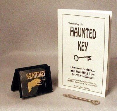 【意凡魔術小舖】[魔術魂道具Shop] 鑰匙魔術美國原版~Haunted Key Royal~~超能力之鑰~經典心靈魔術