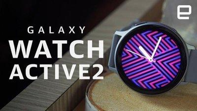 送保護貼! LTE不鏽鋼款:黑色44mm※台北快貨※三星Galaxy Watch Active 2 Active2智慧錶