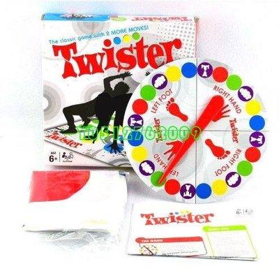 身體平衡 互動歡樂聚會親子互動遊戲2~4人/益智//團康/桌遊【新版twister身體扭扭樂玩具】