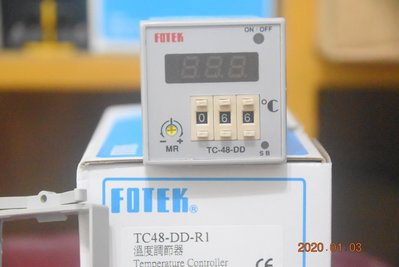 FOTEK 陽明 TC48-DD 溫度控制器 溫控器