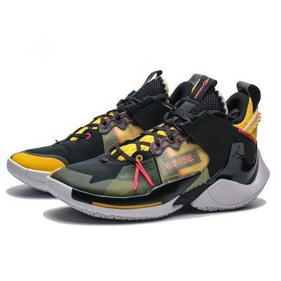 JORDAN WHY NOT ZER0.2 SE PF 籃球鞋 XDR 黑黃 AV4126-002 MAR免運