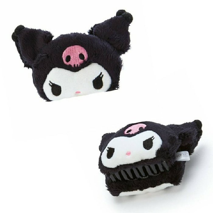 【莓莓小舖】正版 ♥ Sanrio 三麗鷗 Kuromi 酷洛米 絨毛鯊魚夾