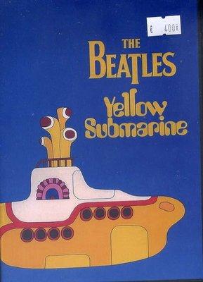 **非官方DVD  The Beatles - Yellow Submarine 1969 卡通長片 繁體中文字幕