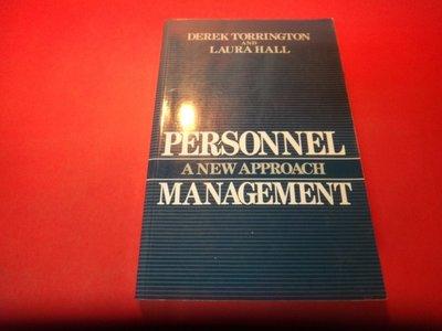 【愛悅二手書坊 19-47】Personnel Management 劃注