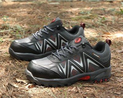 【TOP MAN】 鋼頭安全鞋防砸防滑防穿刺透氣工作鞋防護鞋183252018