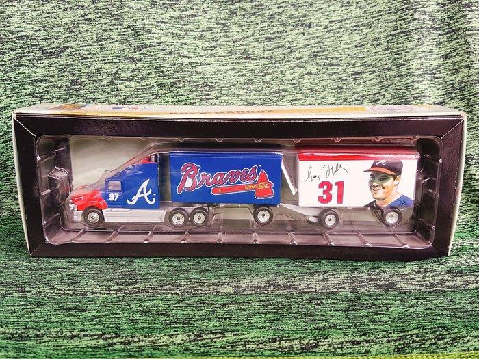 《金塊》MLB勇士 Greg Maddux 1997紀念車 限量 756 of 1000 模型車 玩具大貨櫃連結車
