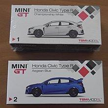 全新 - 1/64 合金車仔 Honda Civic Type R FK8 RHD (Mini GT)