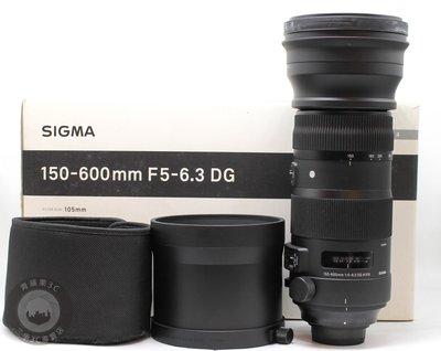 【高雄青蘋果3C】SIGMA 150-600mm f5-6.3 DG OS HSM SPORT #55711