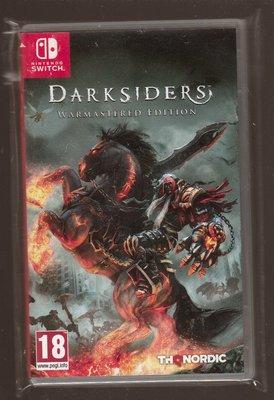 中古品 NS Switch 原版片 中文版 暗黑血統 暗黑騎士 末世騎士 戰神 重製版 台中市