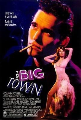金臂人-The Big Town (1987)(摺式)原版電影海報