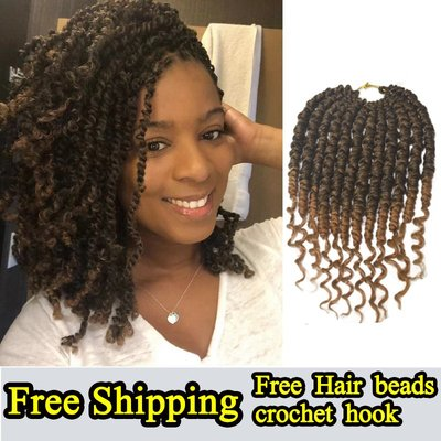 SUNNY雜貨-Passion spring bomb twist crochet braids hair extensions#假髮#臟辮