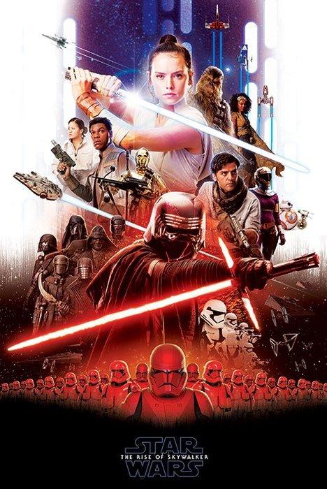 英國進口海報 PP34538( 星際大戰 Star Wars The Rise of Skywalker )