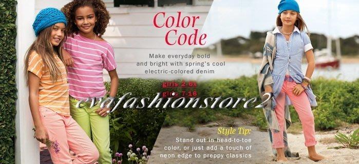 【USA美國精品時尚小舖】Polo Ralph Lauren 大女童繡大馬螢光粉紅色牛仔長褲(不含腰帶)
