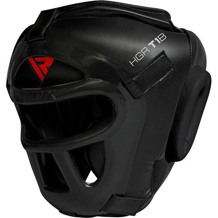 【神拳阿凱】RDX 英國 HGR-T1B 全罩頭盔 黑 拳擊 泰拳 散打 格鬥(免運)