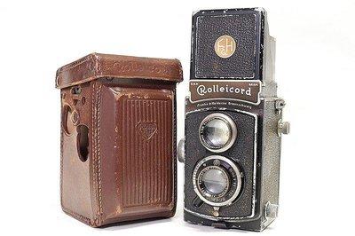 *JAZZ 棧 * 產量:30,542台 稀有蔡司鏡頭 Rolleicord II - Model 1雙眼相機 TLR