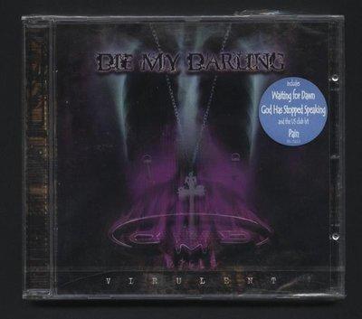 ///李仔糖二手CD唱片*2001年英國版.DIE MY DARLING 專輯-VIRULENT CD=全新未拆(s691)