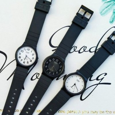 CASIO手錶專賣店 超薄石英指針錶 MQ-24 簡單大方 考生推薦考試專用錶 公司貨附保固卡【↘超低價】