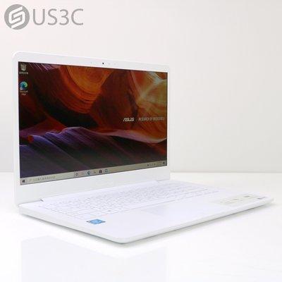 【US3C-松山店】【一元起標】華碩 ASUS E406MA 14吋 N5000 4G 128G SSD 筆記型電腦 二手筆電 輕薄筆電 重量僅1.3kg