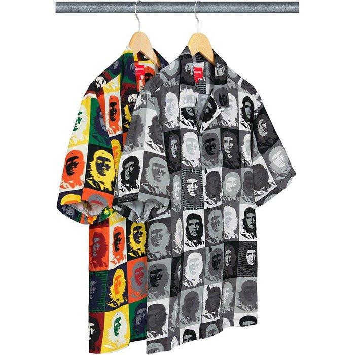 【紐約范特西】預購 Supreme SS20 WEEK 18  Che Rayon S/S Shirt 格瓦拉