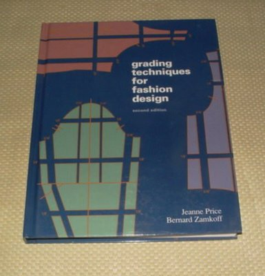 [賞書房] 洋裁縫紉原文書《時裝設計的分級技術》Grading Techniques for Fashion Design