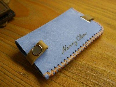 KH手工皮革工作室 MIT全牛皮鑰匙包 拉帶式鑰匙皮套 客製鑰匙包 台灣製造手工皮件 皮革鑰匙包 台中手工皮件