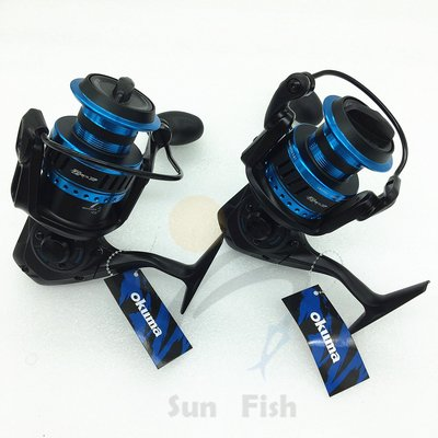 《三富釣具》OKUMA寶熊 阿諾AZORES 捲線器 6000H 黑藍色 另有其它規格 非均一價 歡迎詢問