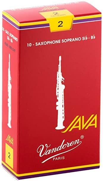 【現代樂器】全新法國Vandoren Java Red Soprano saxophone 高音薩克斯風2號竹片