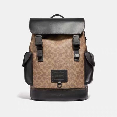 【Woodbury Outlet Coach 旗艦館】COACH 40344 男士雙肩後背包 電腦包美國代購100%正品