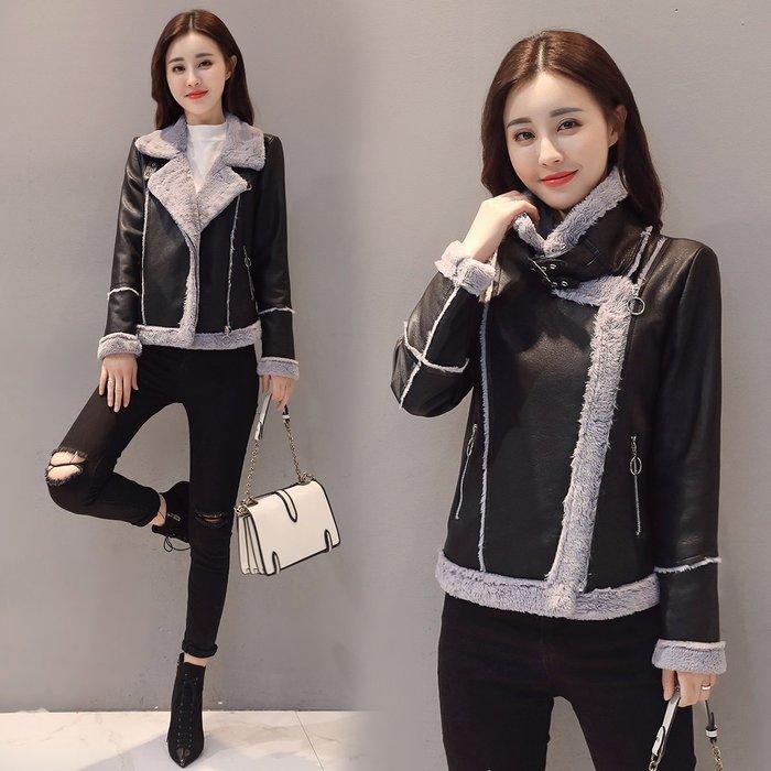 「 西西輪廓。」棉服女短款2019冬季新款韓版寬松棉衣外套學生羊羔毛修身小棉襖潮S48