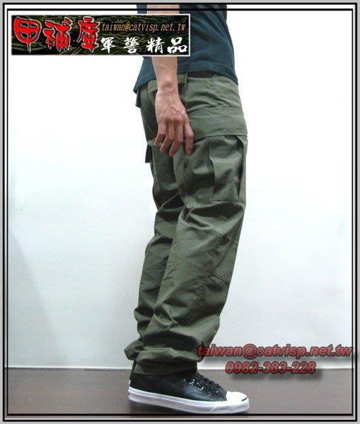 《甲補庫》___OD草綠色多口袋特戰長褲(美規版)___特勤戰技長褲 BDU