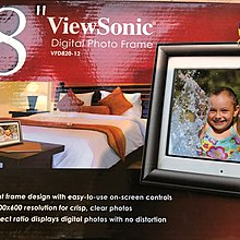 ViewSonic VFD820-12數位相框