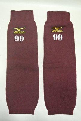 貳拾肆棒球-限定品日本帶回Mizuno pro 日職棒東北樂天支給式樣保暖襪套一雙/日製