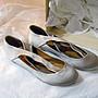 海洋工坊名牌旗艦店~ CHLOE  美麗的緞面芭蕾舞鞋